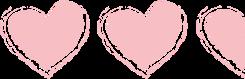 hearts 2 and half