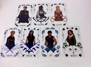 reign of fallen cards