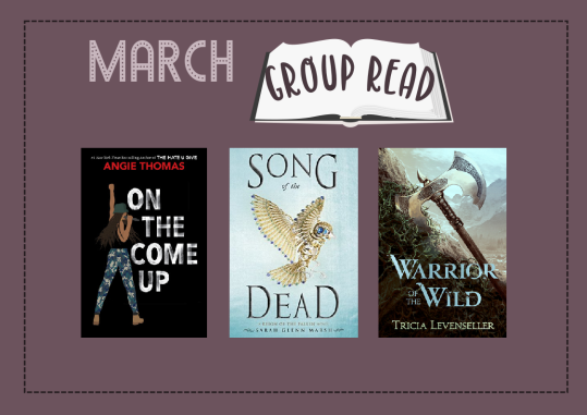 march 2019 group read