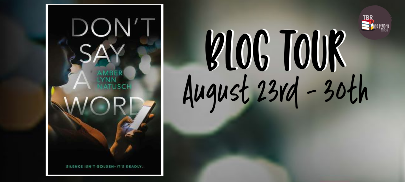 don't say a word blog tour