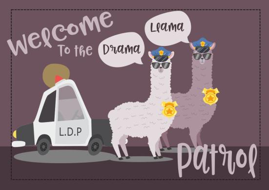llama drama patrol